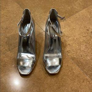 BCBG open toe shoes